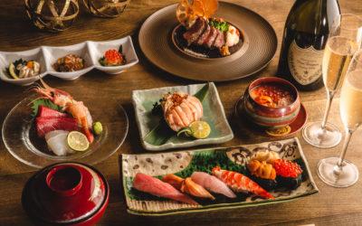 <期間限定12/24~25>シャンパン付寿司クリスマスコース、ご予約承り中!